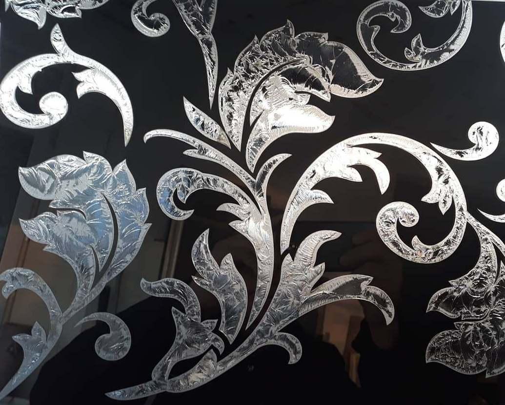 Художественная обработка стекла и зеркала